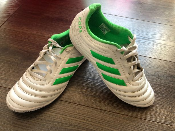 Buty piłkarskie adidas COPA na sztuczna murawę orlik 38 24cm białe