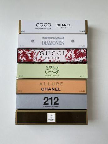 Perfumetki Chanel, Gucci, Armani, Boss, Herrera, Lacoste,Dolce&Gabbana
