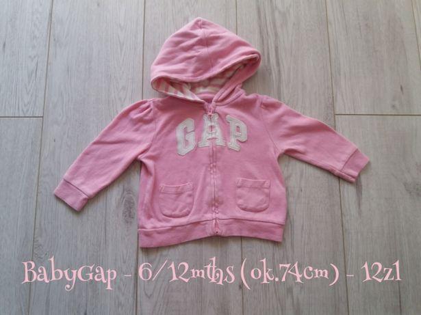 Bluza z kapturem BabyGap 6/12mths (74cm) 5zl