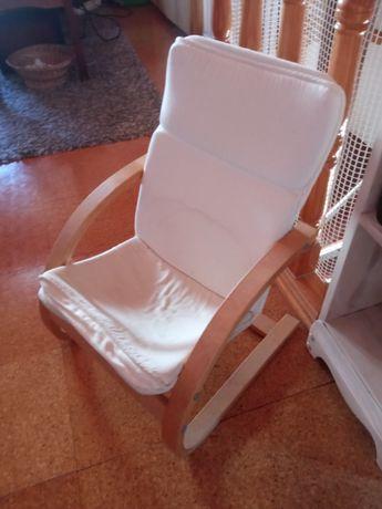Cadeira poltrona criança ikea