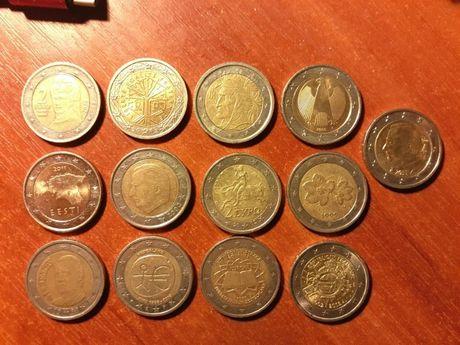 монеты 1 и 2 евро