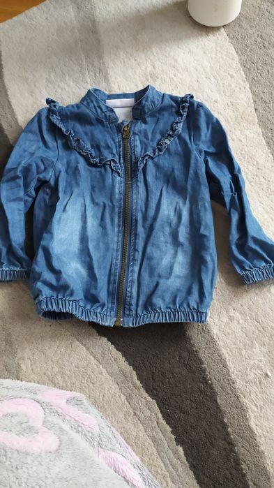 Bluzka bluza jeansowa r. 86 Ciechanów - image 1