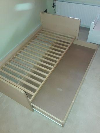 Łóżko drewniane 140x70