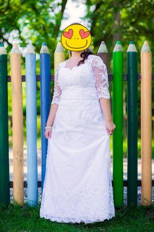 Suknia ślubna rozm. 42-46