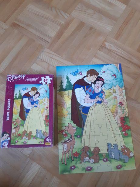 Puzzle Układanka Trefl Disney Królowa Śnieżka i Krasnoludki WYSYŁKA