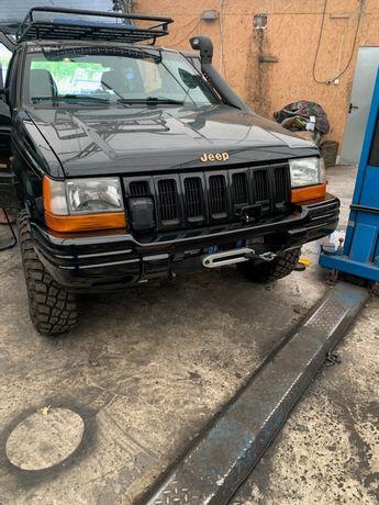 Płyta pod wyciągarke Jeep Grand Cherokee ZJ