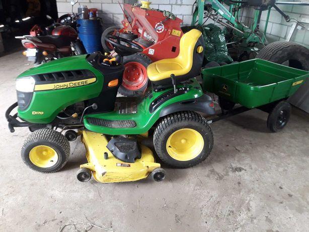 Kosiarko traktorek Husqwarna John deer D 170   26 KM