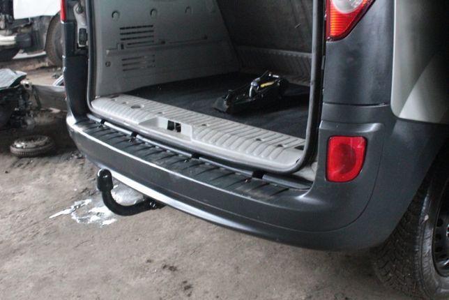 Задний бампер Renault Kangoo Рено Кенго 2 фонарь фаркоп дверь кузов