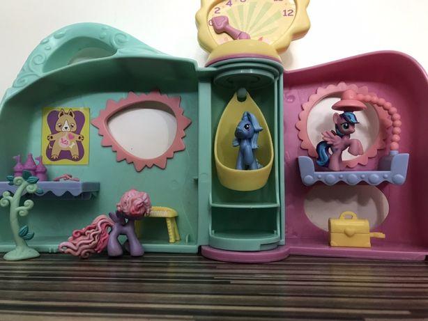 Domek My Little Pony, weterynarz kucyki, szpital pet