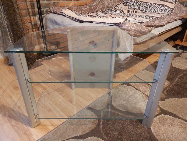 stolik pod telewizor i stojaki na płyty CD i DVD