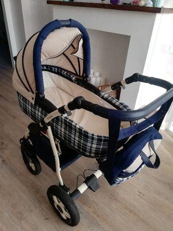 Универсальная коляска Anex Retro Синяя