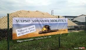 Wapno sypkie Ca Morawica Zambrów, Łomża, Wysokie Mazowieckie