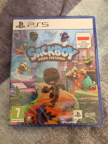 Gra ps5 sackboy: a big adventure nowa w foli