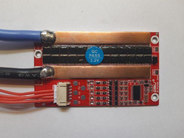 Пусковая BMS Lifepo4 3-5s 120А постоянного розряда, 410А пик