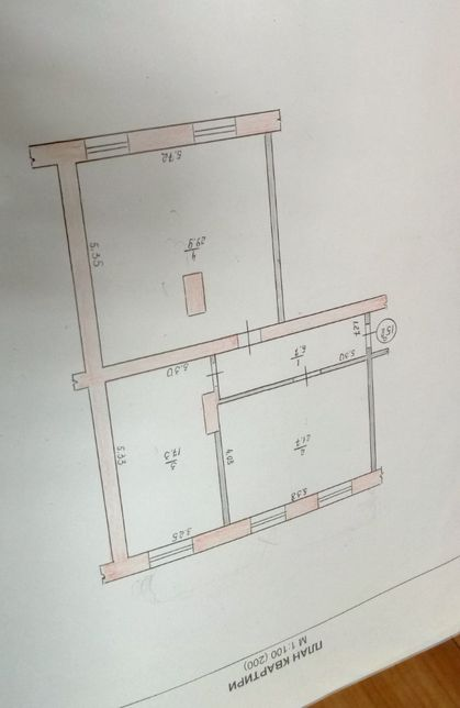 Продаж З-кімнатної квартири - 76 м2, з окремим входом, ЗНИЖЕНО ЦІНУ