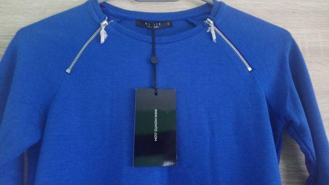 Niebieska bluzka Mohito S