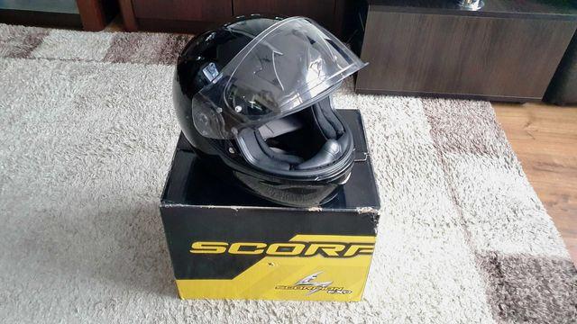 Scorpion kask exo-390 solid black L