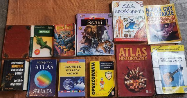 Książki , atlasy, encyklopedia