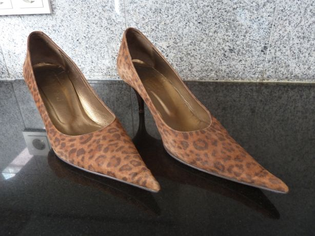 Sapatos padrão tigre, Bianca!, tamanho 38 (Versace, Ralph Lauren)