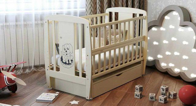 Дитяче ліжко кроватка дитячі ліжечка Дубок колиска
