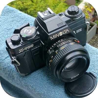 Minolta X700 + Lente 50mm