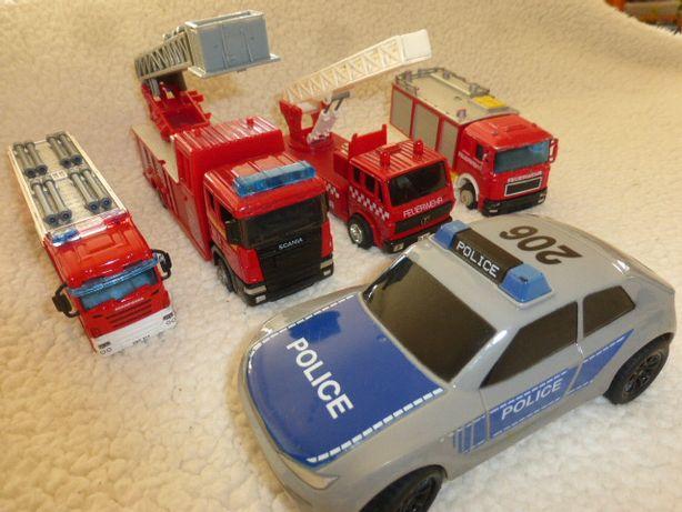 Полицейская и пожарные машины Германия. Игровой наабор.