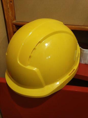 Nowy kask BHP z instrukcją + słuchawki