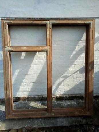 Окна с коробкой, двойные