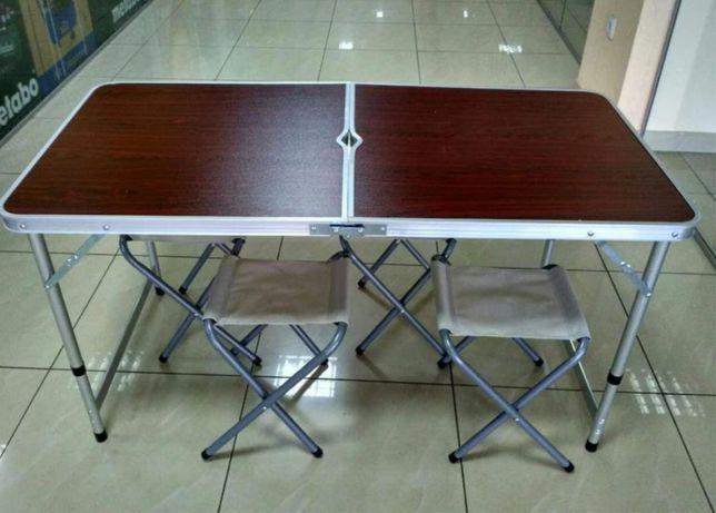 Стол трансформер для пикника раскладной и стулья