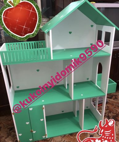 Кукольный домик Домик для кукол Барби Лол Монстр Хай