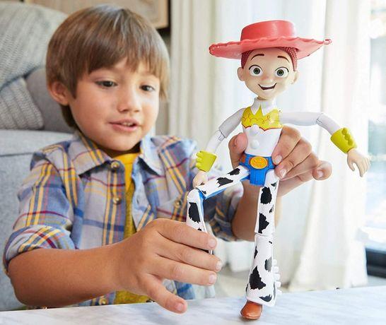 История игрушек Джесси говорящая, 22см,Toy Story 4 Jessie True Talkers