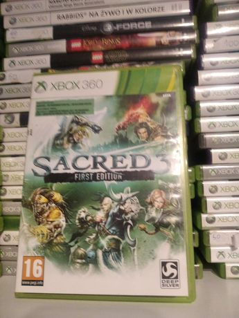 Xbox360 sacred 3 first edition