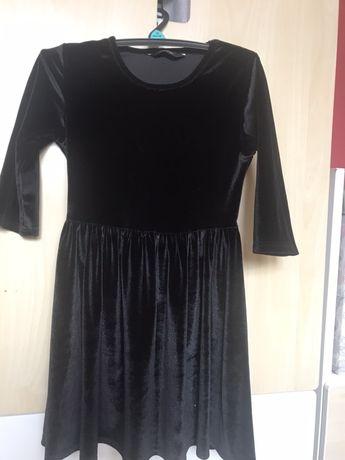Sukienka pluszowa