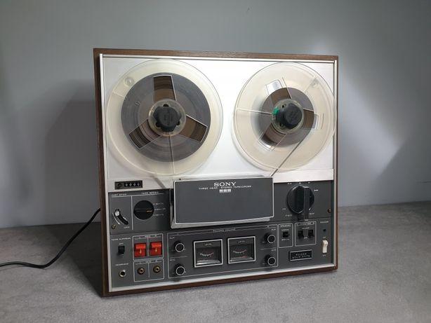 Piękny magnetofon Szpulowy Sony TC-366 -3 head, po przeglądzie,idealny