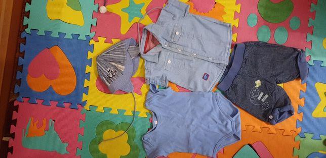 Набор для мальчика джинсовый