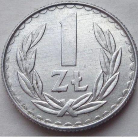 1 złoty aluminium