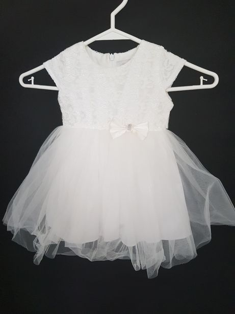Sukienka dziewczęca, rozmiar 74-80, około 1 roku