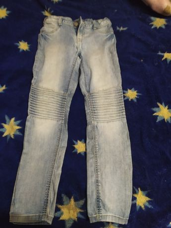 Джинсовые штаны на девочку