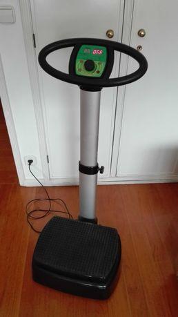 Plataforma vibratória para perda de peso