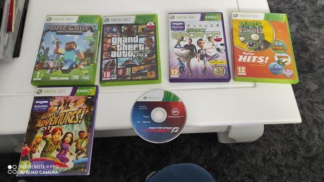 Xbox 360 4 pady + gry + zasilacz