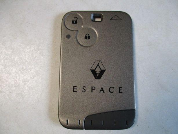 Karta kluczyk pilot Renault Espace IV oryginał