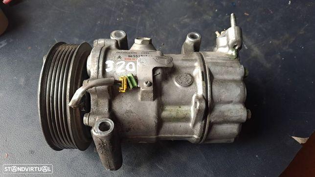 Compressor AC Peugeot 206 / 307 / Citroen Berlingo / C3 1.4 Hdi / 1.6 HDI Ref. 9655191580