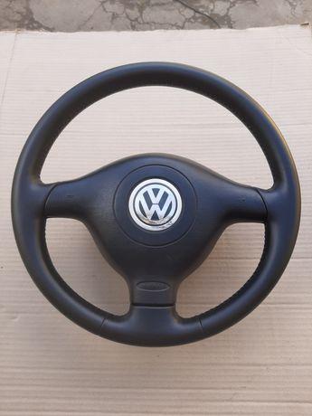 Продам трьох спицевий руль для гольф 4 бора пассат б5 bora golf 4