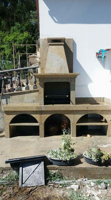 Churrasqueira em pedra Souto Rebordões - imagem 1