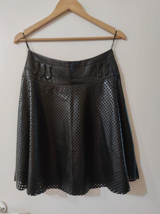 Черная юбка из эко кожи Ирпень - изображение 1