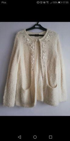 Piękny ciepły sweterek narzutka z kryształka Vero Moda M L XL 38 40 42