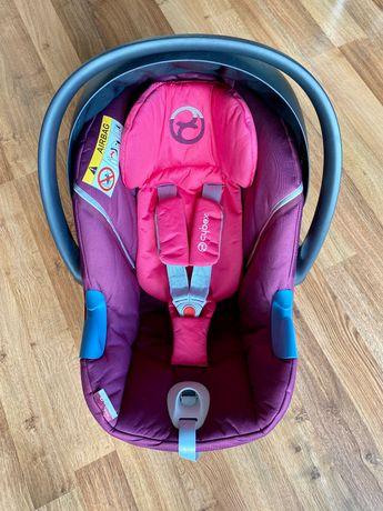 Cybex Aton M 0-13 kg różowy mystic pink-purple fotelik nosidełko