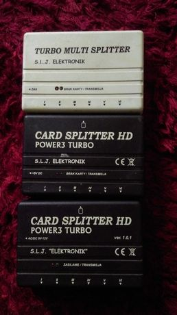 "Splitter Power3 Turbo S.L.J. ""ELEKTRONIK"""
