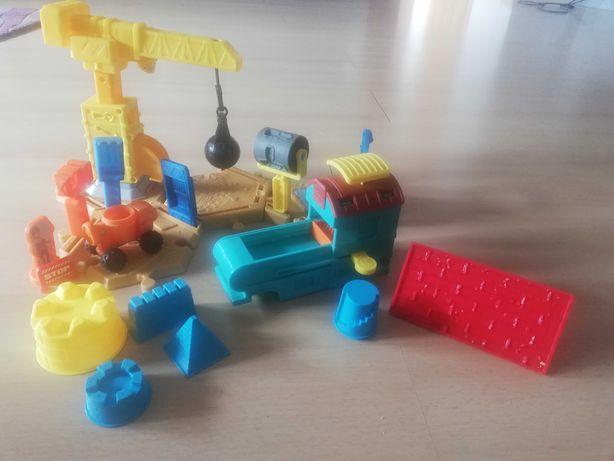 Zestaw Bob Budowniczy do zabawy piaskiem kinetycznym
