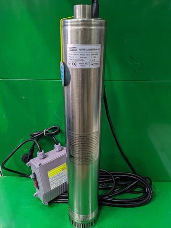 Насос погружной глубинный 100 SCM 308-1.1  с нижним забором воды